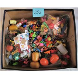 BOX OF KINDER SURPRISE TOYS/ COLLECTABLES