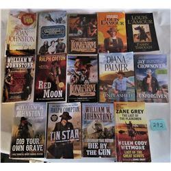 LOT OF 14 WESTERN S/C POCKET BOOKS