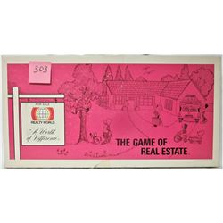 "RARE 1979 ""REALITY WORLD"" GAME OF REAL ESTATE BOARD GAME"