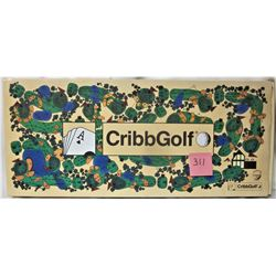 1992 CRIBBGOLF BOARD GAME