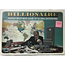 VINTAGE 1973 BILLIONAIRE BOARD GAME