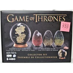 NEW SEALED GAME OF THRONES 480 PIECE COLLECTORS PUZZLE