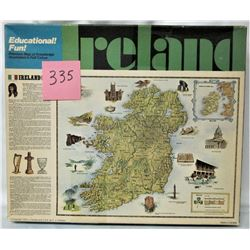"1973 IRELAND 22""x34"" EDUCTIONAL 770 PIECE PUZZLE"