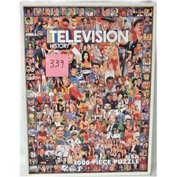 24 X 30 TELEVISION HISTORY 1000 PIECE PUZZLE
