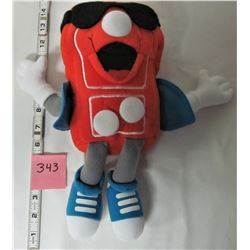 "1993 DOMINO PIZZA ""DONNY"" 12"" PLUSH DOLL"