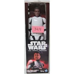 "DISNEY STAR WARS FORCE AWAKENS 12"" FINN ACTION FIGURE (NEW)"