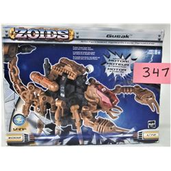 2002 ZOIDS GUSAK 1:72 MOTORIZED ACTION FIGURE