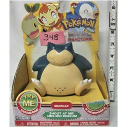 2009 POKEMON RIVAL REACTOR SNORLAX