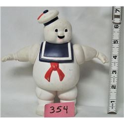 "1984 COLUMBIA PICTURES 7"" STAY PUFT MARSHMALLOW MAN DOLL"