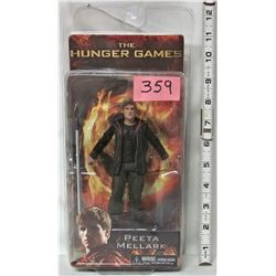 "NEW BLISTER PACK 2012 HUNGER GAMES 'PEETA MELLARK' 6.5"" DOLL"