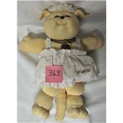 "1983 CABBAGE PATCH KIDS KOOSAS 14"" CLOTH DOLL/DRESS"