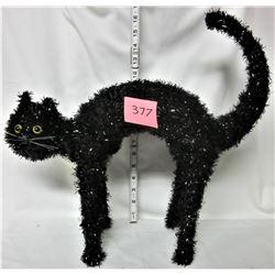 "16"" X 12"" X 5"" HALLOWEEN BLACK CAT"