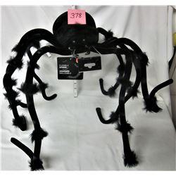 LARGE NEW FLEXIBLE HALLOWEEN BLACK SPIDER