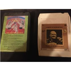 409-2 8TRACK TAPES TRIBUTE TO DON MESSER/GOLDEN UKRANION MEMORIES