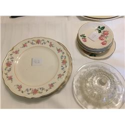 412-LOT OF VINTAGE DISHES