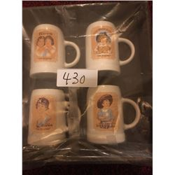 430-HIRES ROOT BEER COLLECTOR MUGS SET OF 4