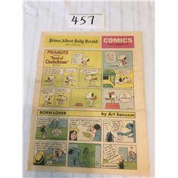457-PRINCE ALBERT DAILY HERALD COMICS   SATURDAY NOV7/1981