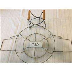 460-VINTAGE CANNER JAR RACK/LIFTER TONGS