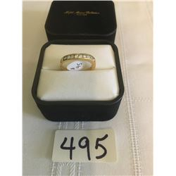 495-FIFTH AVENUE COLLECTION GENUINE AUSTRALIAN CRYSTAL WAVE RING SIZE7.5