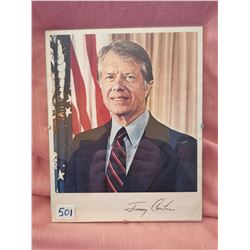 Jimmy Carter Presidential Photo, January 1977- November 1981