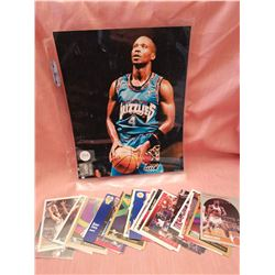 Bryon Scott NBA photo, 1995/ basketball cards (30)