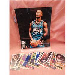 Bryon Scott NBA photo, 1995/ basketball cards (30)
