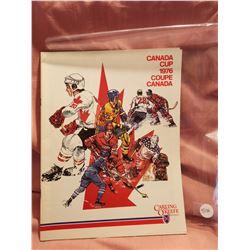 Canada Cup Hockey Magazine 1976