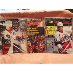 NHL Hockey News 1986, 1993 (3 magazines)