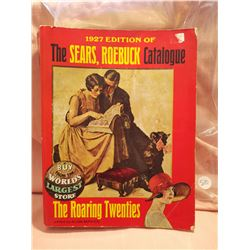 1927 Edition of the Sears Roebuck Catalogue