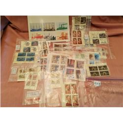 Lot of uncancelled stamps/Ships of Canada Heritage Stamp Collection booklet, 1978