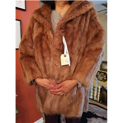 Fur Jacket, size 12