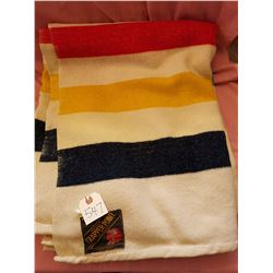Hudson Bay 4- point Trapper Blanket, made in England