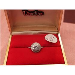 Dinner ring, size 8 ½