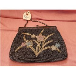 """Vintage beaded evening purse (10 ½"""" by 71/2"""")"""