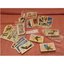Lot of misc Brooke Bond collector cards