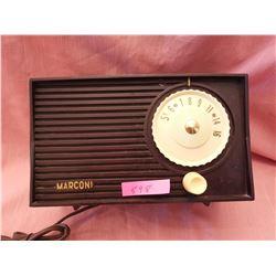 Marconi radio
