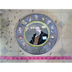 """ROYAL DOWTON """" DICKENS"""" PLATE"""