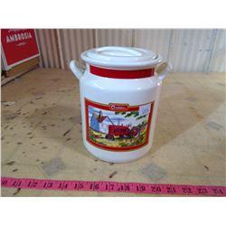 INTERNATIONAL FARMALL POTTERY COOKIE JAR