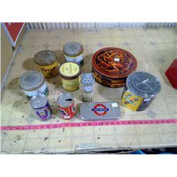 LOT OF TINS TOBACCO - BEER