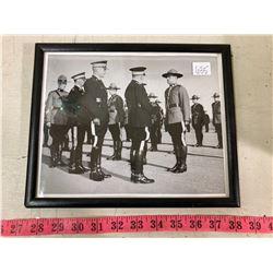 1950'S BLACK+WHITE PHOTO R.C.M.P FULL UNIFORM REAL PHOTO