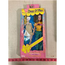 """TOTSY"" DRESS AND PLAY DOLL 11.5"" ORIGINAL BOX AND CONTENTS"