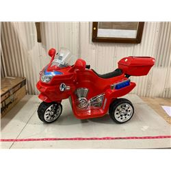 CHILD'S TOY MOTORCYCLE - RIDEABLE