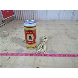 MOLSON EXPORT-BEER-CAN-TELEPHONE WORKING