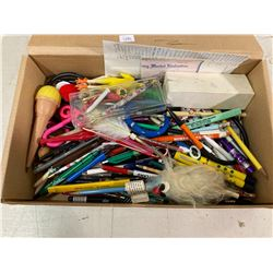 100+ ADVERTISING BALL POINT PENS + NOVELTY U.S