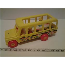 1965 Fisher-Price wood bus