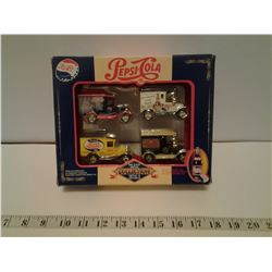 Pepsi-Cola die cast metal collection