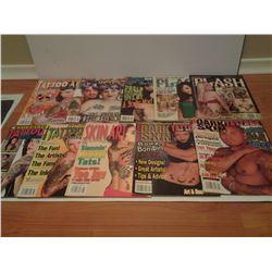 Tattoo magazines (10)