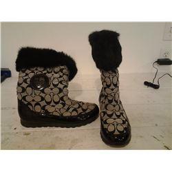 Coach boots, size 9 Ladies