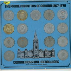 PRIME MINESTER OF CANADA MEDALLION