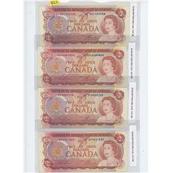 4-1974 $12.00 BILLS